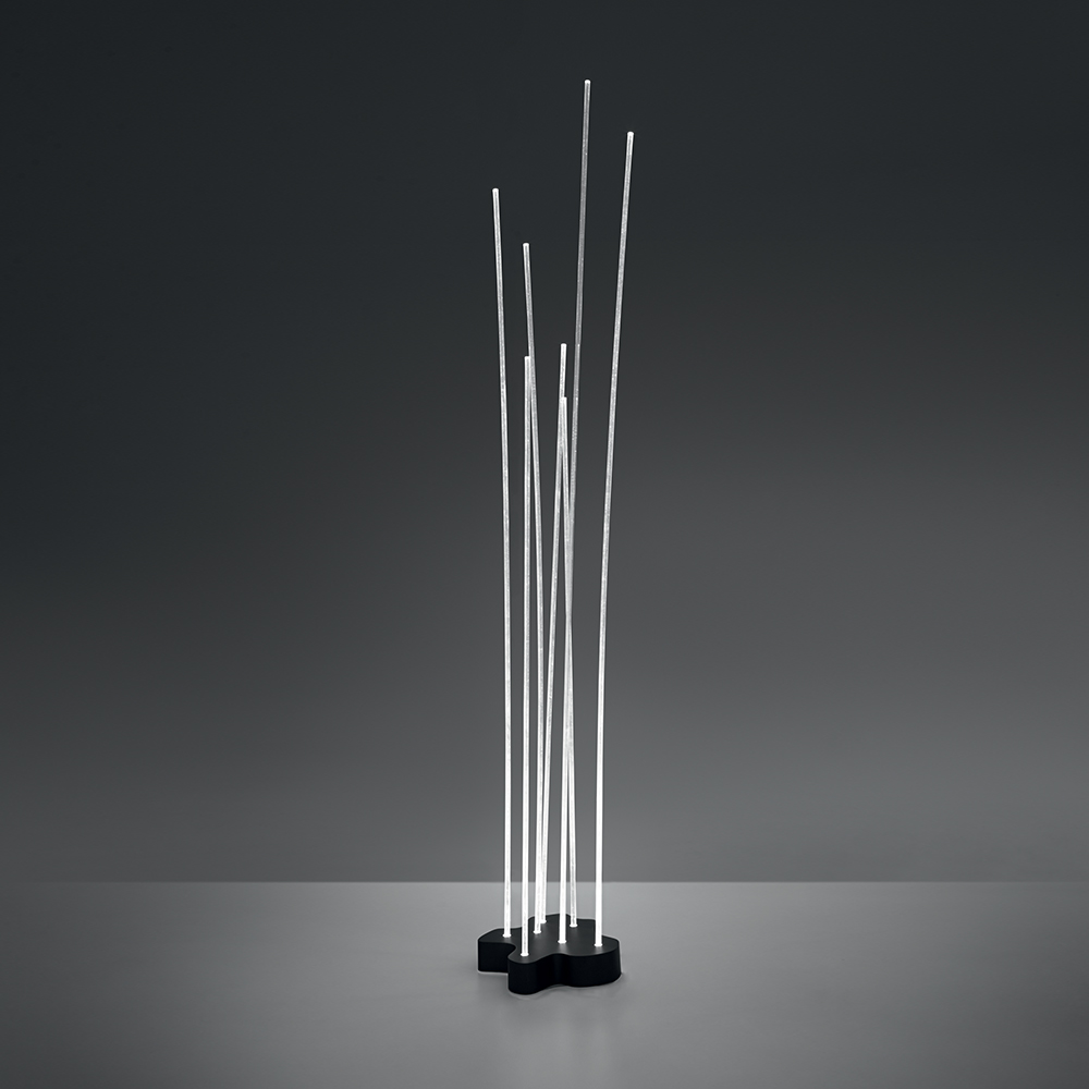 Reeds outdoor fountain lighting inspiration materials for Artemide illuminazione