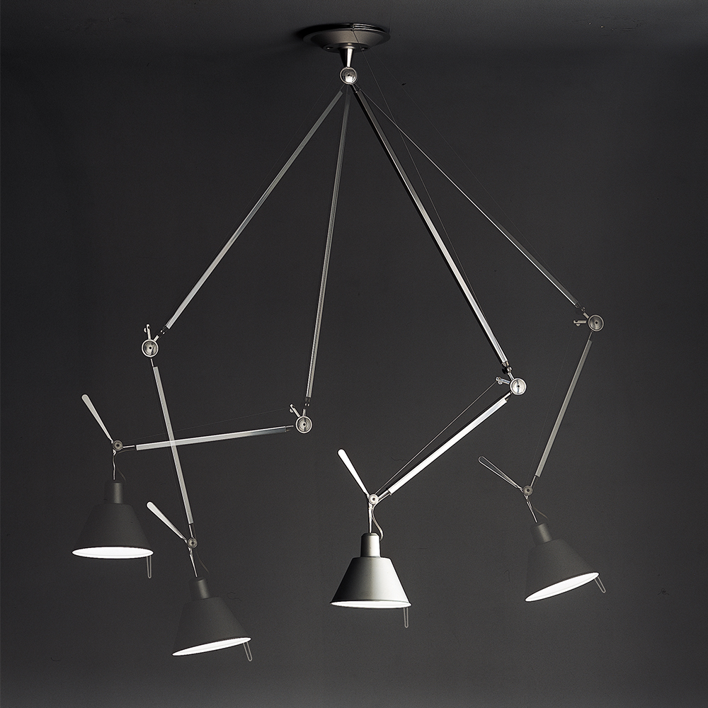 TOLOMEO OFF CENTER Suspension - Inspiration, materials and ... for Artemide Tolomeo Ceiling  45jwn
