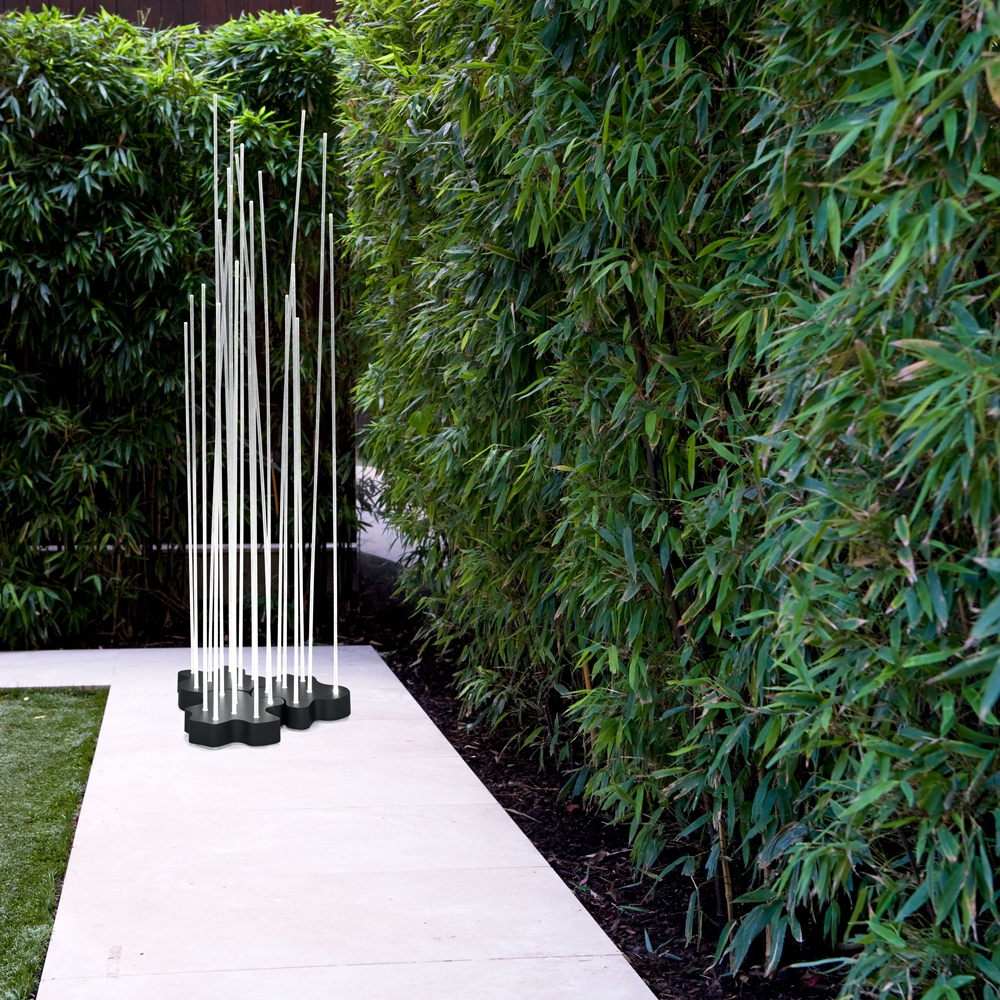Reeds Outdoor Fountain Lighting Inspiration Materials