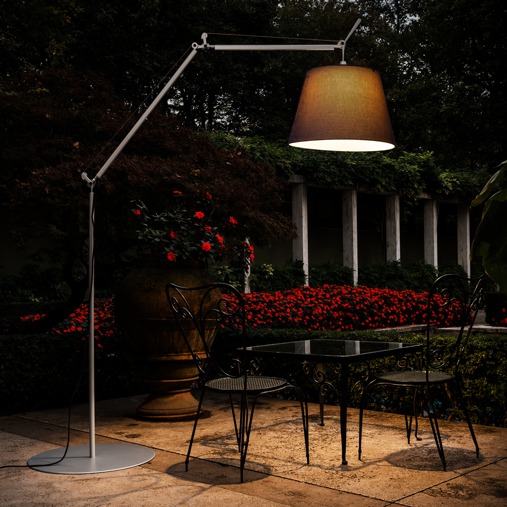 Tolomeo Mega Outdoor Ground Inspiration Materials And Technologies Artemide North America